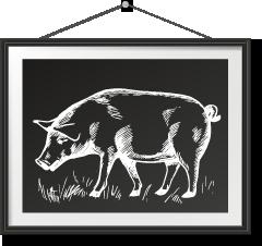 西班牙伊比利亞(黑毛豬)火腿 Spanish Iberico Ham Photo Frame西班牙伊比利亞(黑毛豬)火腿 Spanish Iberico Ham Photo Frame