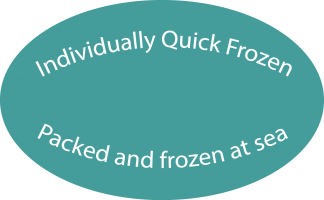 IQF frozen at sea