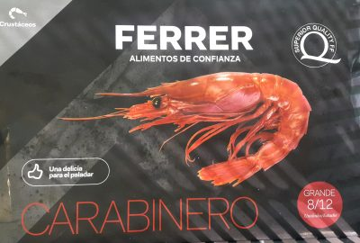 Ferrer Frozen Red King Prawn