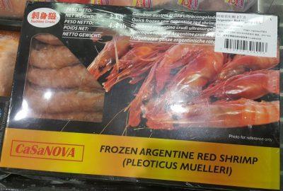 CaSaNOVA Argentine red shrimp