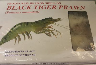Black Tiger Prawn (5 pcs)