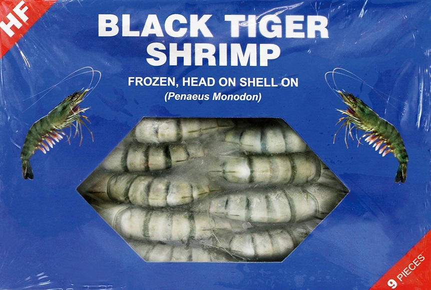 HF Black tiger shrimp