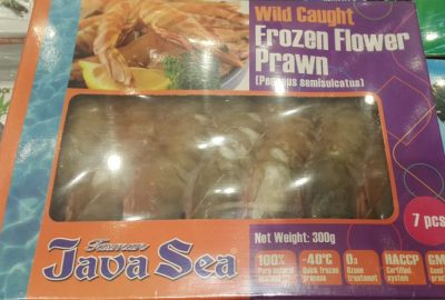 Tasman Java Sea Frozen Flower Prawn