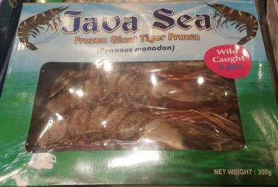 Java Sea Frozen Giant Tiger Prawn