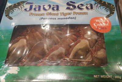 Frozen Giant Tiger Prawn (5 pcs)