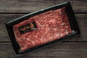 急凍日本薩摩和牛A4特上牛小排火鍋片 Frozen Kagoshima Satsuma Wagyu A4 Slices
