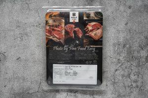急凍西班牙純種杜洛克豬肉眼扒(4塊裝) Frozen Spanish 100% Pure Breed Duroc Pork Sliced Loin Boneless