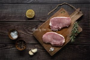 急凍西班牙純種杜洛克豬肉眼扒(4塊裝) Frozen Spanish 100% Pure Breed Duroc Pork Sliced Loin Boneless