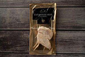 急凍匈牙利鵝肝片 (Grade A 2片裝) Frozen Raw Hungarian Goose Foie Gras Slices (Grade A 2 pcs)